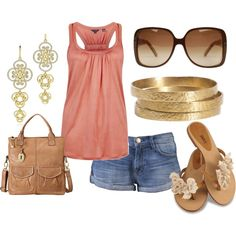 """""""Classic Chic Beach"""" by shanna-taylor-alonge on Polyvore"""