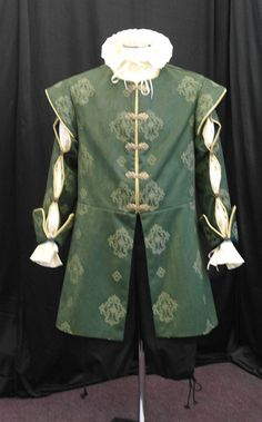 Mens medieval long doublet