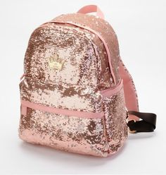 Fashion pink Shiny Unique Backpack Bag