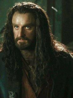 """If this is to end in fire,"" Thorin said majestically, taking a step towards his company. His eyes blazed. ""Then we will all burn together!"""