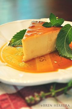 Mojito Flan Recipe | Flanboyant Eats™: Latin Fusion Cooking & Tasty Travels Under Pressure!™