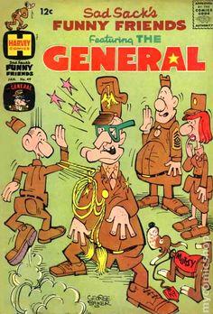 Sad Sack Cartoon   Sad Sacks Funny Friends (1955) comic books