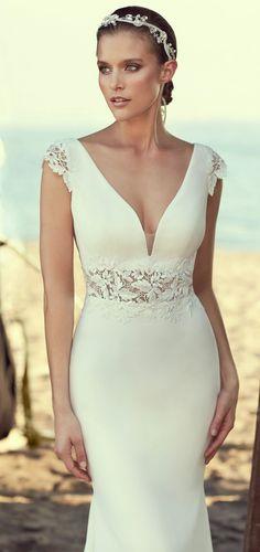 Courtesy of Mikaella Wedding Dresses; www.mikaellabridal.com