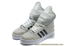 Adidas X Jeremy Scott Big Tongue Chaussures Khaki Noir Sortie