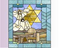 Christmas scene from gospel of Luke