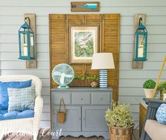 Use these helpful tips to turn your porch into a relaxing oasis || Worthing Court
