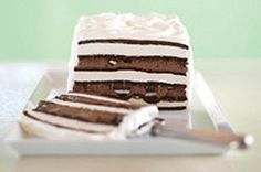 Layers of ice cream sandwiches, creamy pudding and OREO Cookies create this frozen delight that's both a breeze to make and tastes as good as more expensive store-bought ice cream cakes.  Make it ahead of time so you're ready for last-minute summer fun!