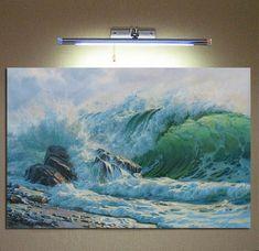 Seascape painting by Alexander Shenderov ocean coastal art | Etsy
