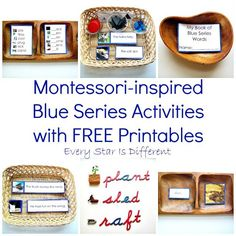 Every Star Is Different: Montessori-inspired Blue Series Activities with FREE Printables