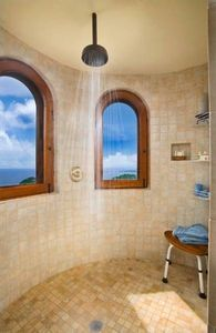 How to Clean Stone Tile in the Shower. See link at bottom of article for natural stone article. I think it's more helpful.