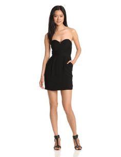 BCBGeneration Women's Sweetheart Cutout Dress, Black, 0 BCBGeneration,http://www.amazon.com/dp/B00BX8SP0K/ref=cm_sw_r_pi_dp_O3x6sb0ZWY6DWFH2