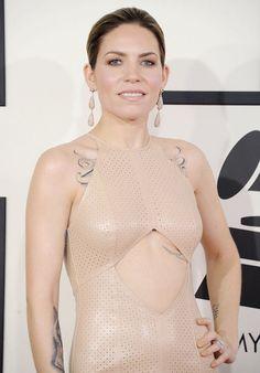 Skylar Grey at 2014 Grammy Awards...