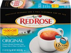 The NapTime Reviewer: NEW Single-Serve Teas from Red Rose Tea + Giveaway