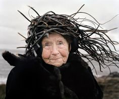 Eyes as Big as Plates is an ongoing creative collaboration between Riitta Ikonen (Finland) and Karoline Hjorth (Norway) where they dress senior citizens in organic outfits inspired by Finnish and N…