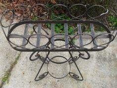 Sunroom planter idea- Vintage iron decorative planter