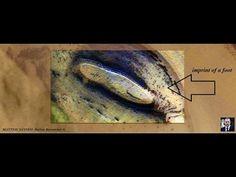 Imprint of a foot on Mars. MATTEO  IANNEO  Italian  Researcher ©