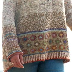 Ravelry Sp tsommer by Martina Reichelt Fair Isle Knitting Patterns, Fair Isle Pattern, Knitting Stitches, Knitting Yarn, Wooly Bully, Fair Isles, Lang Yarns, Paintbox Yarn, How To Purl Knit