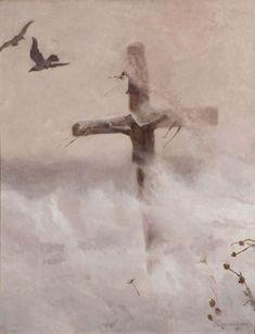 Krzyż w zadymce - Józef Chełmoński Film France, Bestest Friend, Art Database, Oil Painting Reproductions, Short Film, Catholic, Faith, Artwork, Animals
