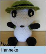 Make your own Indiana Panda!