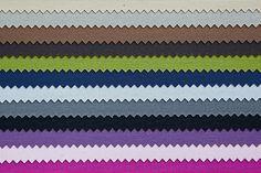 Een klein overzichtje van de verduisterende rolgordijnen met gekleurde achtergrond uit de collectie van goedkooprolgordijn.nl