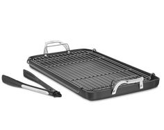 I love the Calphalon Unison Nonstick Double Griddle Set with Tongs and Rack on Williams-Sonoma.com