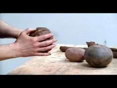 The Pounding Stone: A Handmade Pottery Tool That Will Help Save Your Wrists - Ceramic Arts Network Ceramic Tools, Clay Tools, Ceramic Clay, Ceramic Pottery, Pottery Art, Ceramic Techniques, Pottery Techniques, Famous Ceramic Artists, Ceramic Arts Daily