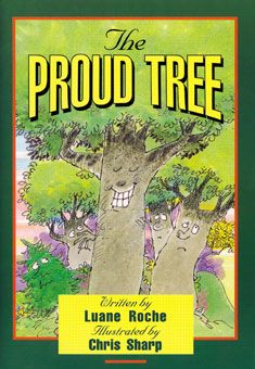 The Proud Tree (black and white for coloring). This timeless tale tells children the story of the crucifixion from the viewpoint of Rex, the tree that became the cross Jesus carried to Calvary. It also teaches them a valuable lesson in humility and love while helping them understand the power of Jesus' love and the importance of his sacrifice.