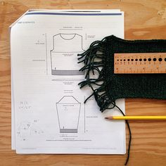 How to start knitting a sweater  (prep for success)