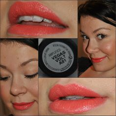 MAC Vegas Volt on lips swatch HAVE AND LOVE THIS