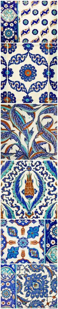 Tiles of Rustem Pasha Mosque, Istanbul