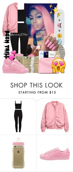 """"" by brandylovebrandy ❤ liked on Polyvore featuring H&M, adidas, MICHAEL Michael Kors and Been Trill"