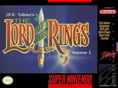 Emularoms: Lord of the Rings [ SNES ]