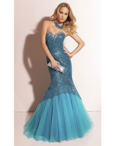 Strapless Sweetheart Floor-length Prom Dress With Sequin Mermaid Skirt http://www.lighttothebox.com/special-occasion-dresses/prom-dresses.html