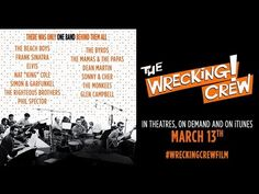 """The Wrecking Crew   Music Documentary. A film that follows in the footsteps of """"Standing in the Shadows of Motown"""", """"20 Feet from Stardom"""" and """"Muscle Shoals"""". There are some great interviews but I thought the structure of the film didn't flow as well as it could have. It helps if you already have a good understanding of what they're talking about."""