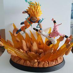 Figuras de Dragon Ball Z Goku Vs Buu Resina 430 MM Dragón Estatuilla Ball Z DBZ Dragonball Z Super Saiyan Figuras Juguetes Modelo de Resina en Acción y Figuras de Juguete de Juguetes y Pasatiempos en AliExpress.com | Alibaba Group