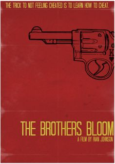 The Brothers Bloom Redesign Classic Movie Posters, Minimal Movie Posters, Film Posters, The Brothers Bloom, Rian Johnson, Good Movies, Awesome Movies, Film Watch, Alternative Movie Posters