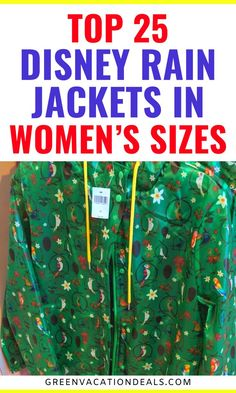 Do you need a new rain jacket? Why not get a Disney rain jacket? These are the 25 best rain jackets in women's sizes that are themed to Disney. Look through this list of waterproof windbreakers to find one perfect for you. Get a Disney rain jacket themed to Disney World rides (like Jungle Cruise, Tiki Room, Tomorrowland People Mover & Space Mountain), Disney parks (like Epcot), Minnie Mouse, Star Wars, Disney Cats (like Aristocats, Jungle Book & Lion King), Disney cruises, etc. #WaltDisneyWorld Disney World Rides, Walt Disney World Vacations, Disney Resorts, Best Rain Jacket, Rain Jacket Women, Disney World With Toddlers, Disneyland Rides, Disney Cats, Space Mountain