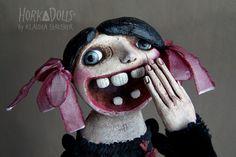 art doll MAXINE HorkaDolls