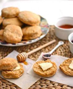 Sweet Potato Honey Buttermilk Biscuits