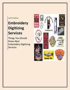 Know abut embroidery digitizing services Embroidery Services, Embroidery Software, Embroidery Designs, Embroidery Digitizing, Machine Embroidery Projects, School, Books, Artwork, Libros