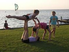 gymnastics with friends - Google Search