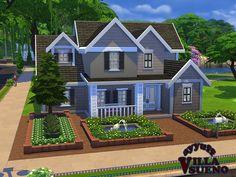 Villa Sueno Furnished by ayyuff at TSR via Sims 4 Updates