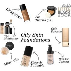 15 Best High-End Foundations for Oily Skin   Apply foundation ...