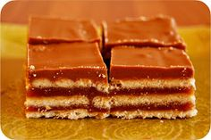 Grandma's Desserts: Homemade Kit Kat Bars.  These are awesome!  By far these are the best of the desserts.  They won't last for long once they are made