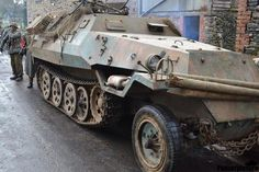Pictures of Tatra OT-810, Czechoslovak post-war version of the Sd.Kfz. 251.
