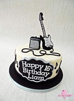 Guitar cake - Cake by Ice me a cake