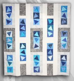 simple modern quilt - Google Search