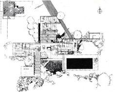 Kaufmann House, Richard Neutra, Palm Springs 1946-1947