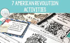 Who says history has to be boring? Here are seven fun, hands-on American   Revolution activities your students are sure to love!   #vestals21stcenturyclassroom   #americanrevolution #americanrevolutionactivities   #americanrevolutionlessons