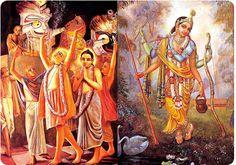 Rama Lila, Krishna Lila & Chaitanya Lila Are All Connected Krishna Lila, Connection, Painting, Art, Art Background, Painting Art, Kunst, Paintings, Performing Arts